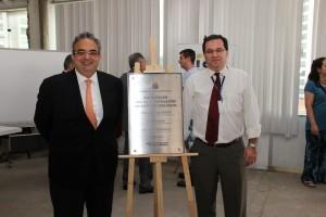 Inauguração das novas instalações do Instituto Geológico