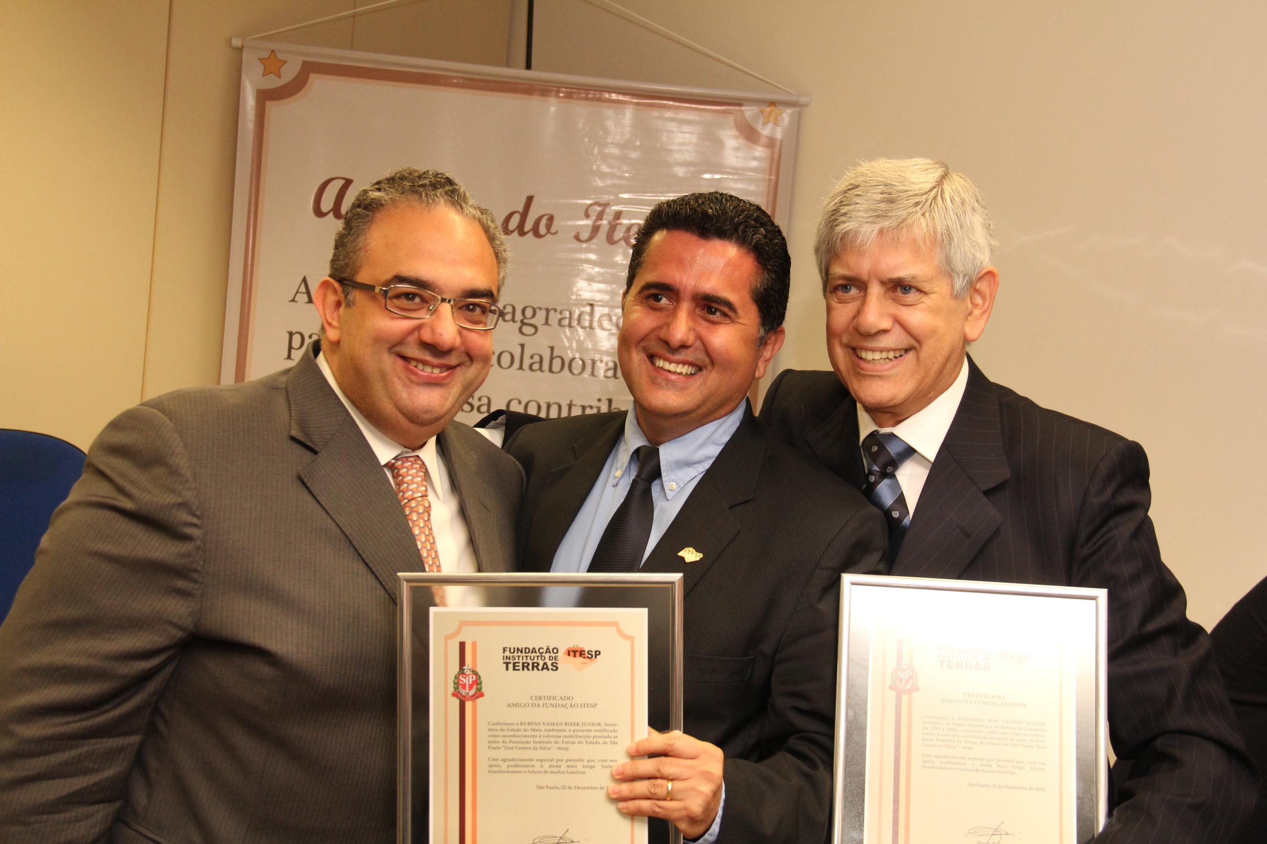 Itesp homenageia Meio Ambiente por parcerias