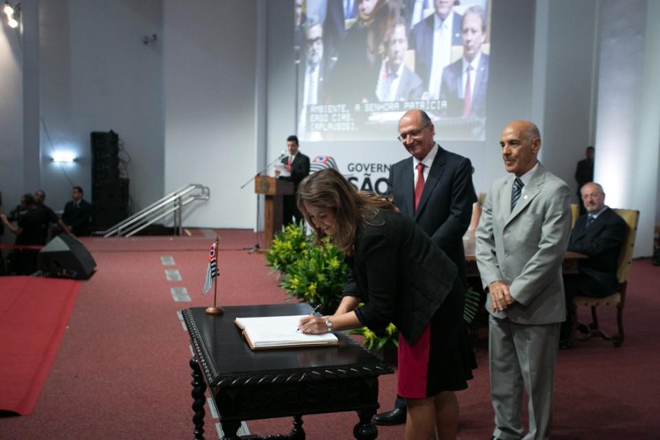Alckmin é reempossado na Alesp e dá posse ao novo secretariado no Palácio dos Bandeirantes