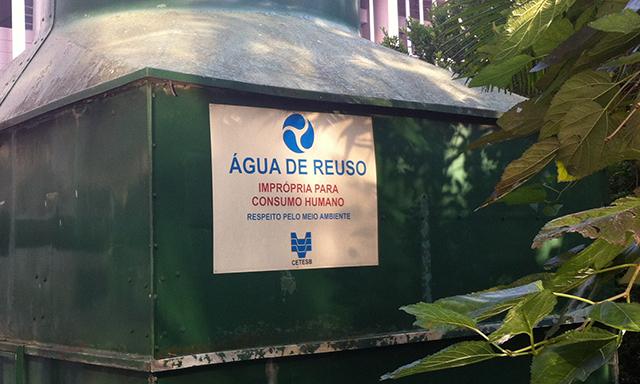 Sistema Ambiental intensifica ações de uso racional de água