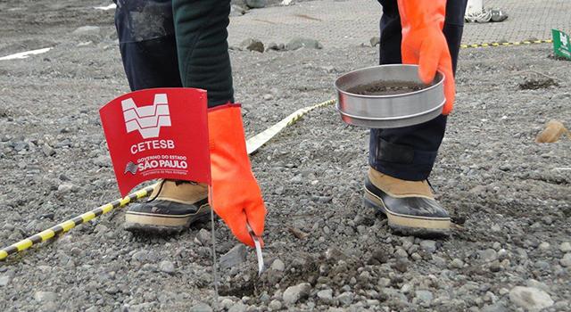 Cetesb realiza nova campanha de coleta de amostras na Antártica