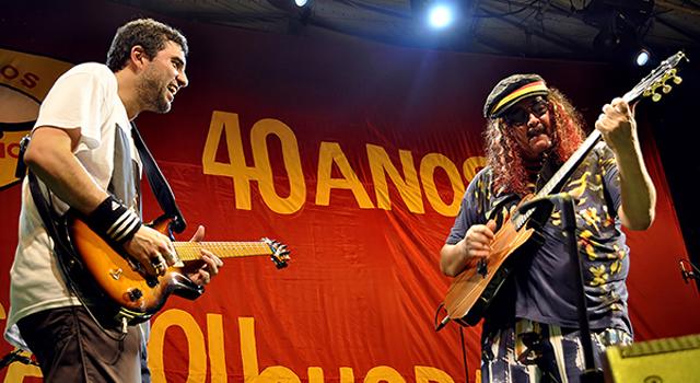 Moraes Moreira comemora os 40 anos de 'Acabou Chorare'  no Parque da Juventude