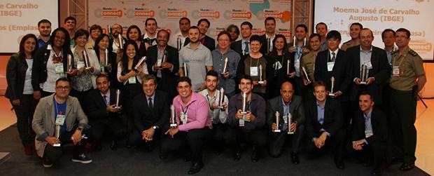 Secretaria conquista dois prêmios no Mundo GeoConnect 2015