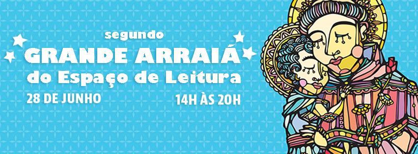 Espaço de Leitura realiza festa junina no domingo