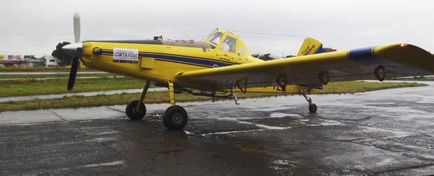 Aeronaves reforçam o combate a incêndios florestais