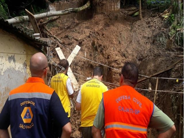 Áreas de risco do estado de São Paulo recebem atenção especial no período de chuvas