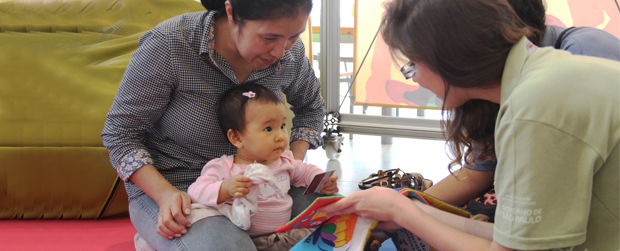 Estímulo à leitura começa cedo nas bibliotecas de São Paulo e do Parque Villa-Lobos
