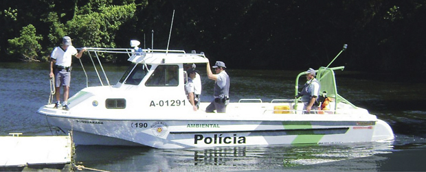 Polícia Militar Ambiental promove treinamento para policiamento náutico