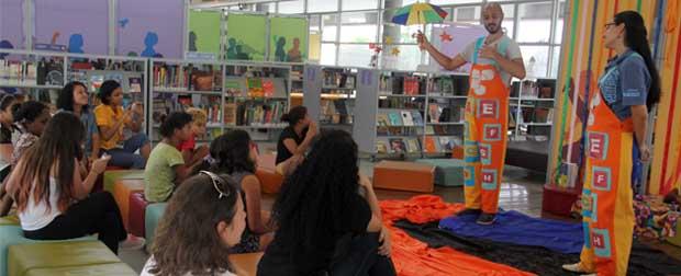 Programação do fim de semana das bibliotecas tem atividades para toda a família