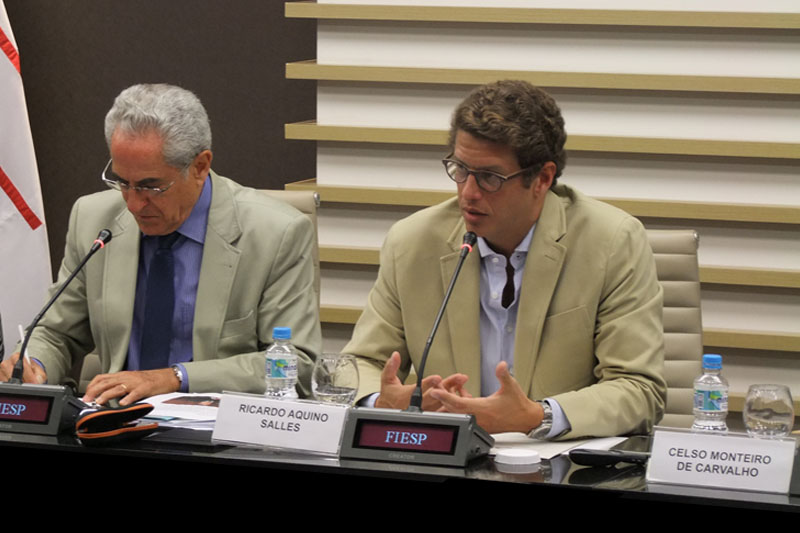 Ricardo Salles participa de reunião do Cosema, da Fiesp