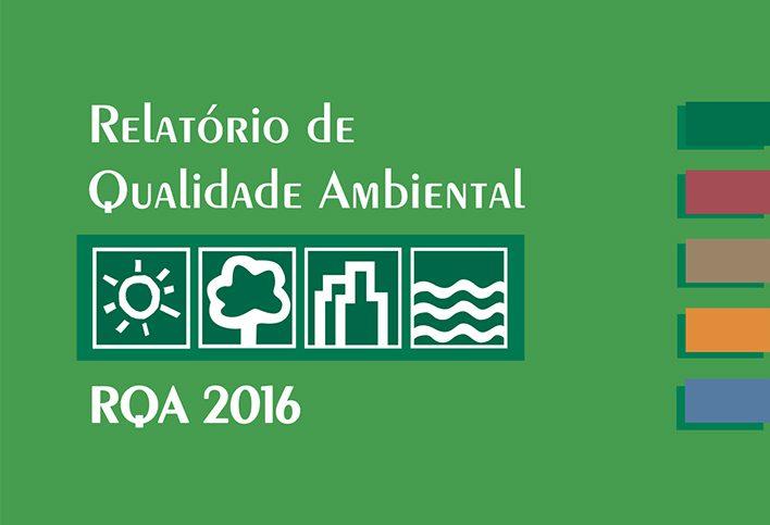 SMA divulga Relatório de Qualidade Ambiental 2016