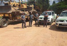 Polícia Ambiental apreende equipamentos em área embargada