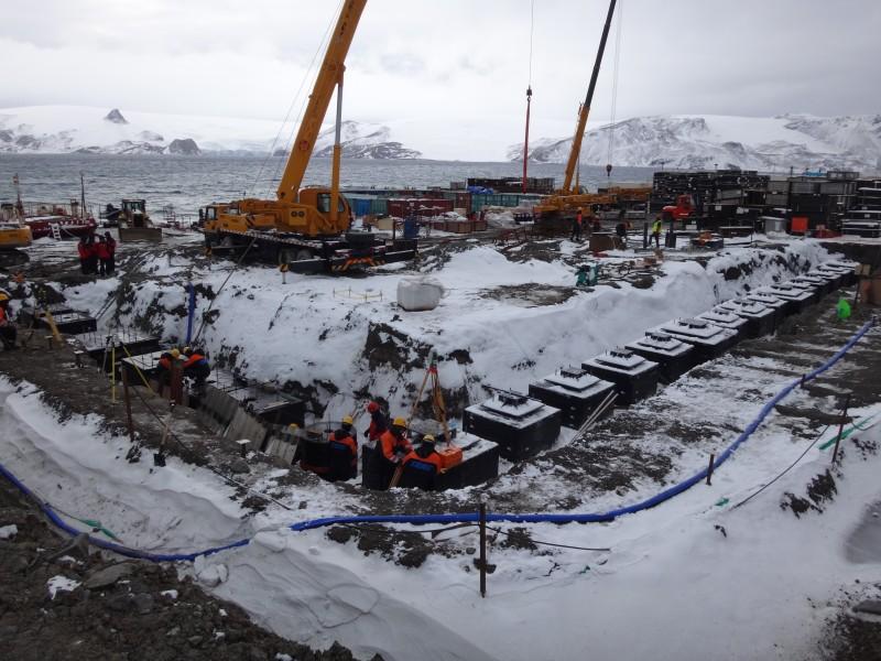 Técnicos da Cetesb desbravam a Antártida