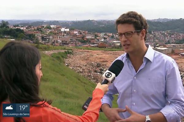 PM ambiental encontra área de descarte clandestino na Zona Sul/SP