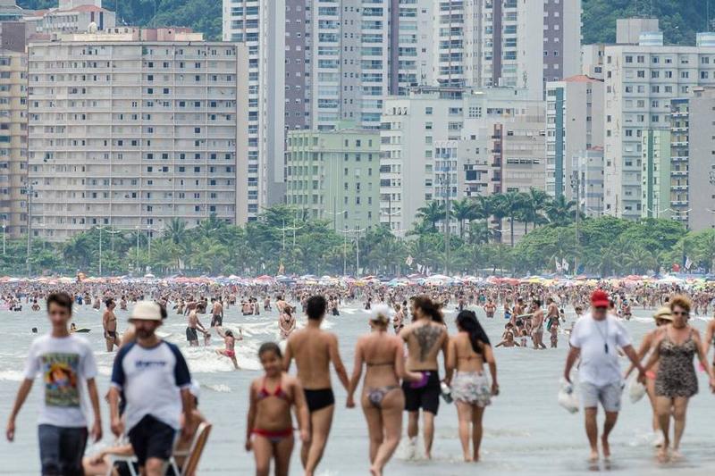 Qualidade das praias de São Paulo melhora, diz Cetesb