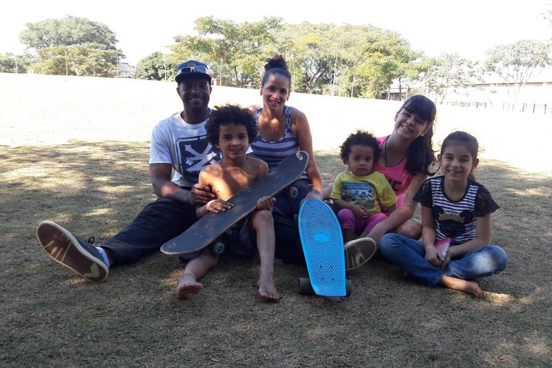 Paulistanos curtem férias no Parque da Juventude em São Paulo