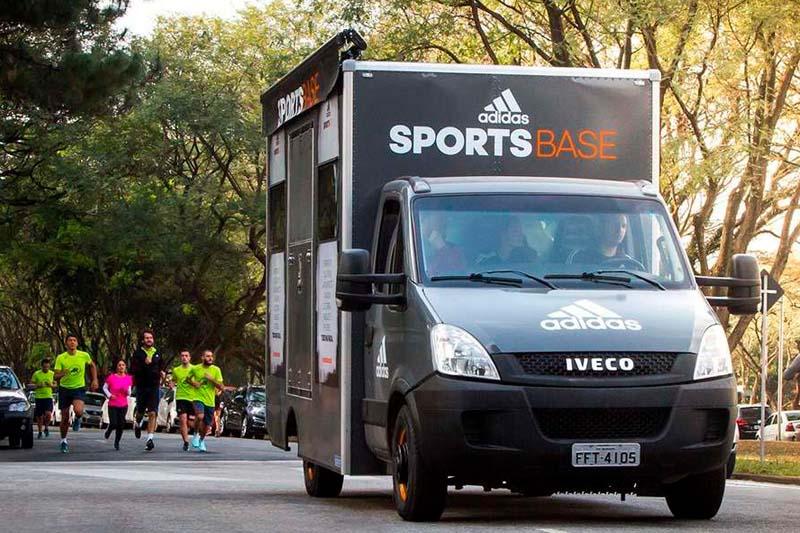 SMA e Adidas lançam truck-móvel de atividades esportivas