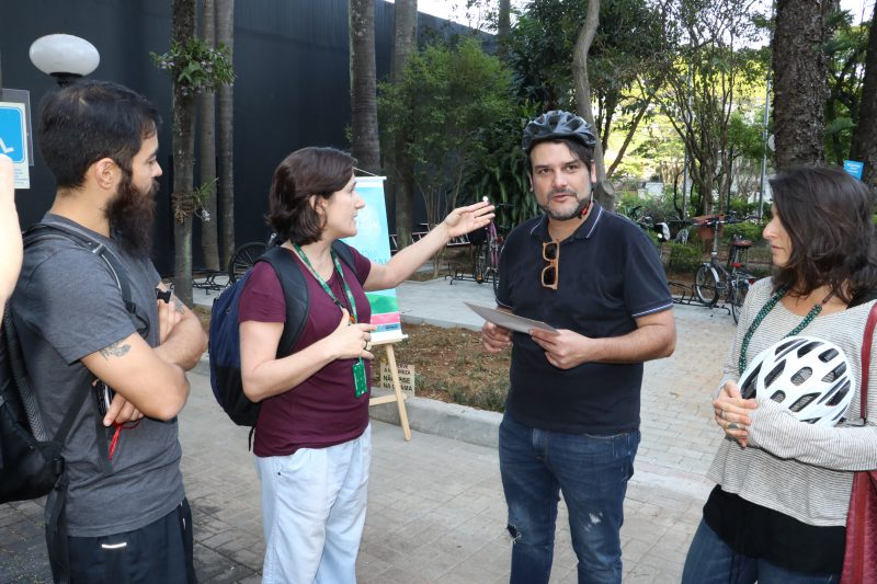 Mais espaço para os ciclistas do Sistema Ambiental Paulista