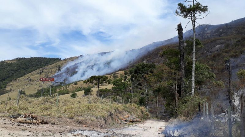 Incêndios atingem mais dois Parques Estaduais