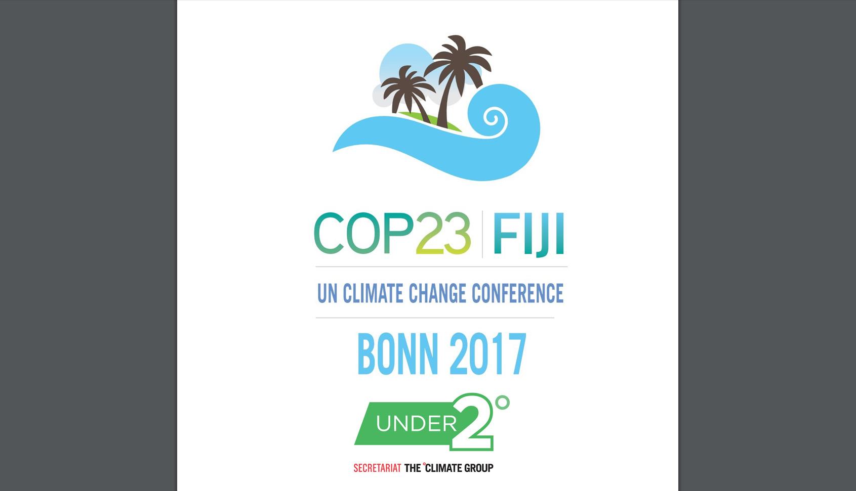 SMA representará o Estado de São Paulo na COP 23, em Bonn