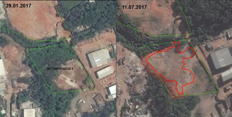 Fiscalização de aterros será feita por imagens de satélites