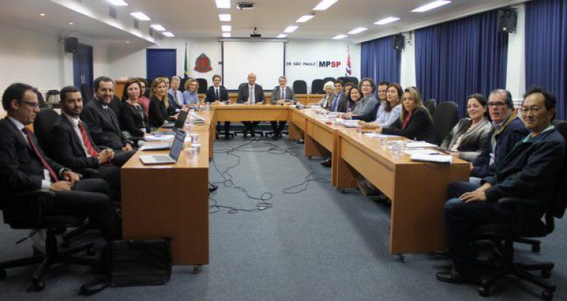 Sistema Ambiental Paulista e MPSP discutem atuação interinstitucional