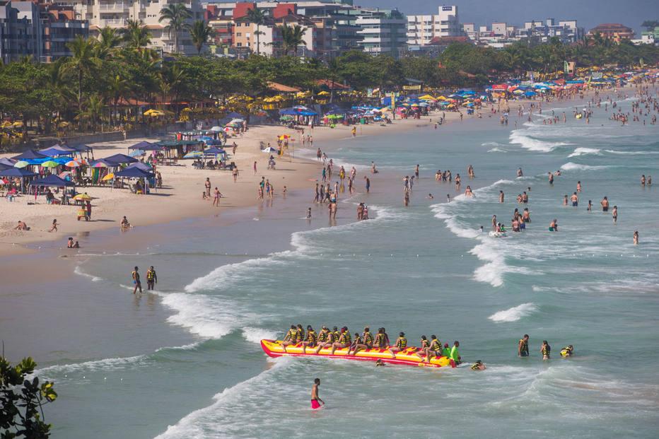 Estadão: Quadruplica o nº de praias boas para banho durante o ano
