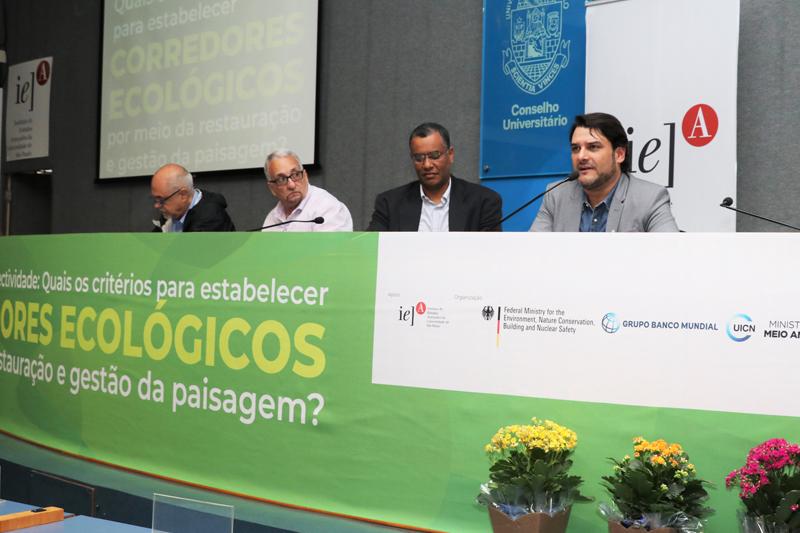 Corredores Ecológicos foi tema de debate na USP