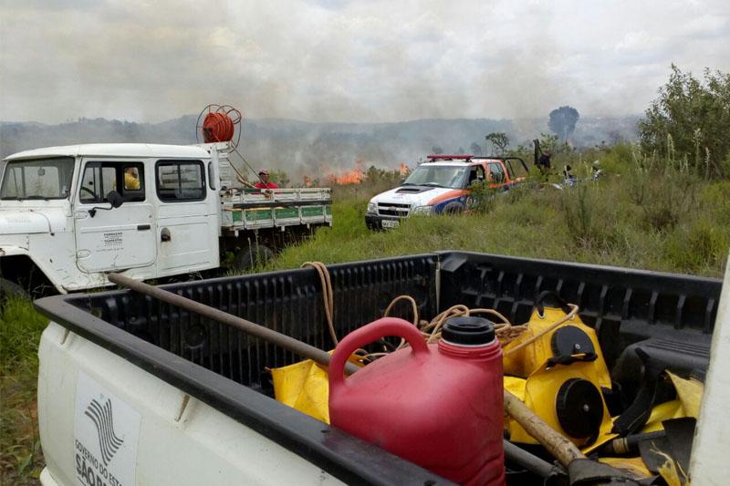 Novo incêndio é debelado no Parque Estadual Juquery