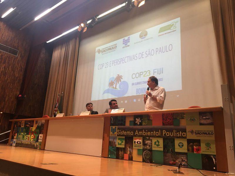 Especialistas em clima debatem perspectivas pós-COP23 para SP