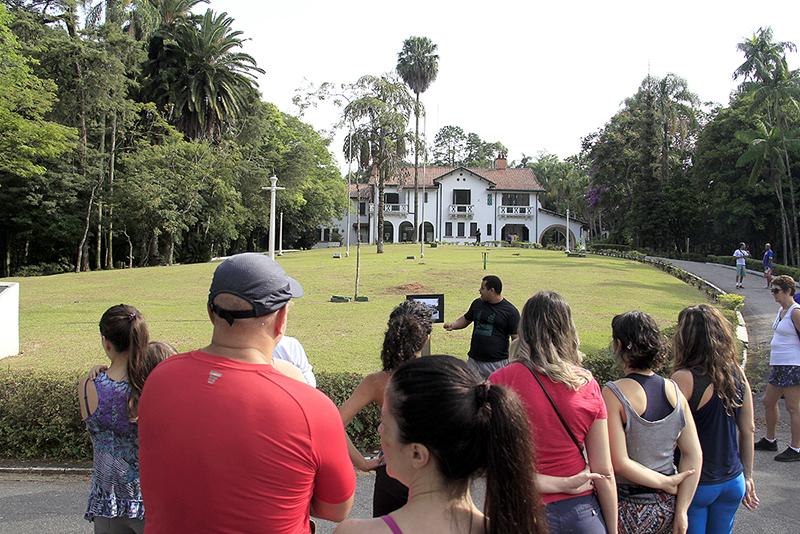 Horto Florestal comemora 122 anos com caminhada e plantio de mudas
