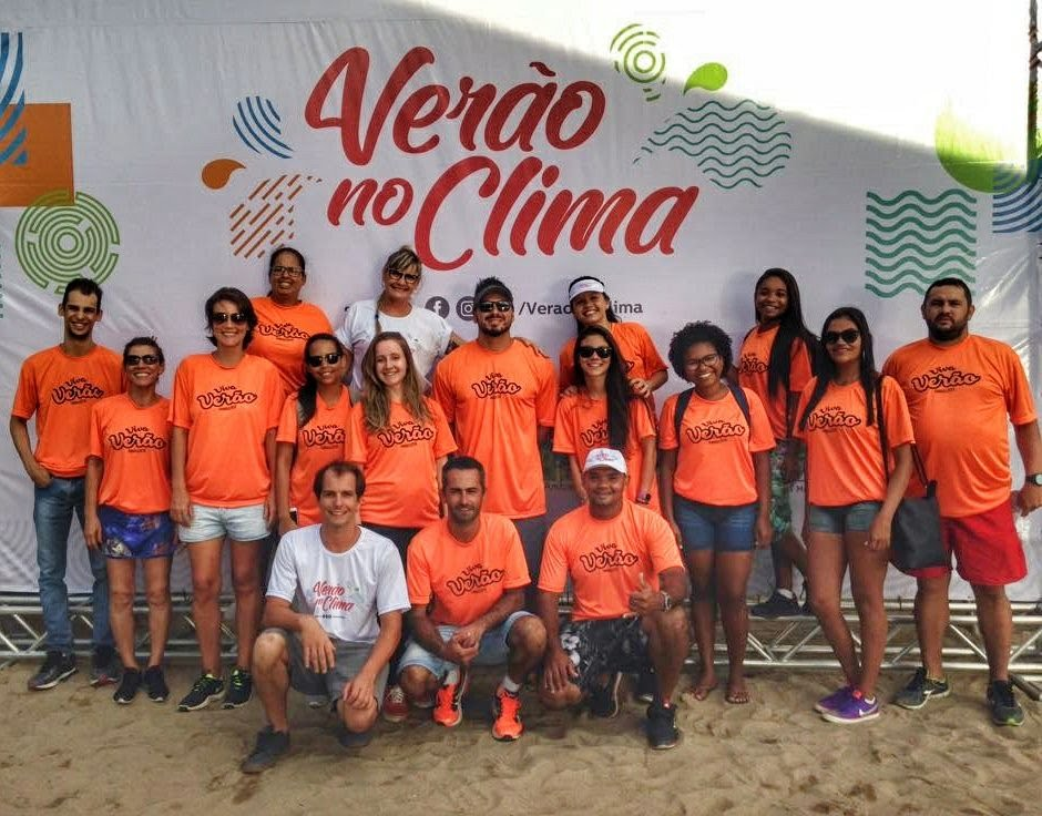 Trabalho ambiental, corrida e doação de alimentos em Ilhabela