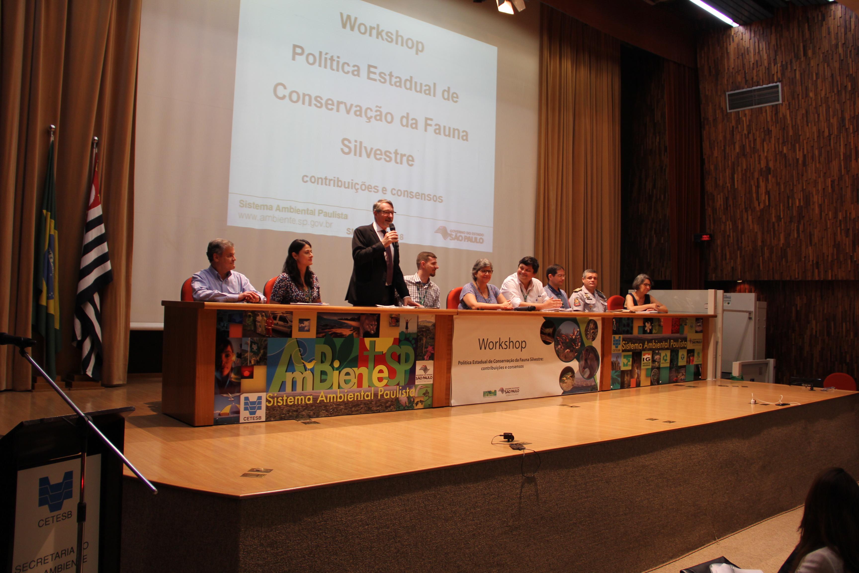 SMA debate política estadual de fauna silvestre