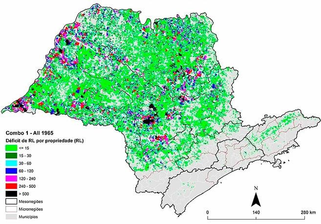 Estudo auxiliará a implantar o novo Código Florestal em São Paulo