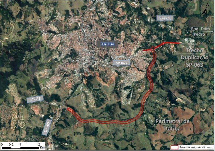 Consema aprova implantação da perimetral de Itatiba