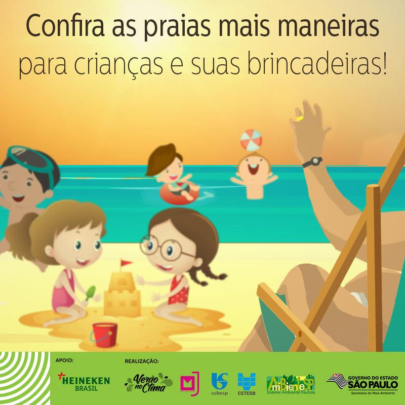 As melhores praias para crianças em São Paulo